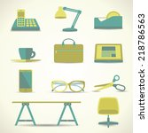 Office Object Icon Vector...