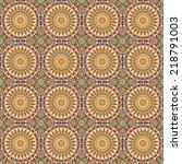 vector seamless pattern.... | Shutterstock .eps vector #218791003