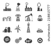 Industry Icons  Mono Vector...