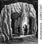 Cave Marienglashoehle  Vintage...