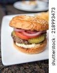 basic grassfed hamburger served ...