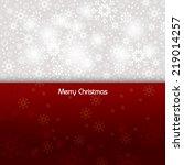 christmas background. eps10. | Shutterstock .eps vector #219014257