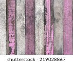Old White And Pink Wood Texture