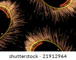 fires of pyrotechnics on a... | Shutterstock . vector #21912964