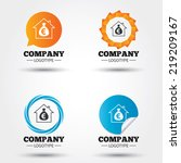 mortgage sign icon. real estate ...   Shutterstock .eps vector #219209167