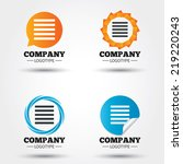 list sign icon. content view... | Shutterstock .eps vector #219220243