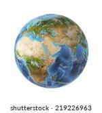 3d rendering  africa and asia... | Shutterstock . vector #219226963