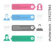 people template infographics.... | Shutterstock .eps vector #219227863