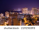 Beautiful Night Cityscape Of...