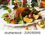Roasted Duck With Fruits For...
