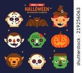 Halloween Infographic Elements