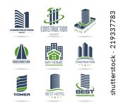 building and construction icon... | Shutterstock .eps vector #219337783
