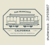 Stamp With Name Of California ...