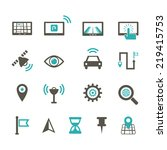 navigation icon | Shutterstock .eps vector #219415753