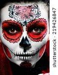 Halloween Make Up Sugar Skull...