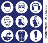 construction industry health...   Shutterstock .eps vector #219432817