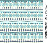 holidays vintage christmas... | Shutterstock .eps vector #219440767