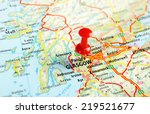 glasgow scotland   united...   Shutterstock . vector #219521677