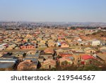 soweto   south west township in ... | Shutterstock . vector #219544567