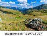 Landscape In Tarcu Mountains...