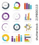 set of infographics elements | Shutterstock .eps vector #219800113