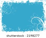 blue christmas background with... | Shutterstock .eps vector #2198277