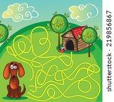 cartoon vector illustration of... | Shutterstock .eps vector #219856867