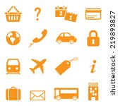 Icons For Online Travel Bookin...