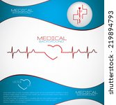 Abstract Medical Cardiology Ek...