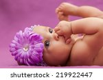 adorable little african... | Shutterstock . vector #219922447