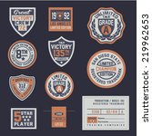 shield  vector  sport  design ... | Shutterstock .eps vector #219962653