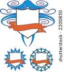 coat of arms. vector design... | Shutterstock .eps vector #2200850