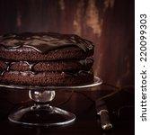 Delicious Vegan Chocolate Cake...