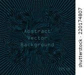 abstract bright digital... | Shutterstock .eps vector #220174807
