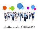 business meeting | Shutterstock . vector #220262413