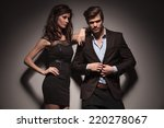 picture of a elegant fashion... | Shutterstock . vector #220278067