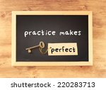 Blackboard With The Phrase...