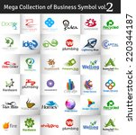 mega collection of vector logo...
