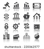 business and finance icon | Shutterstock .eps vector #220362577