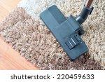 vacuuming very dirty white...   Shutterstock . vector #220459633