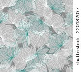 seamless floral pattern with... | Shutterstock .eps vector #220482097