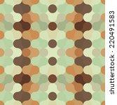 abstract retro geometric... | Shutterstock .eps vector #220491583