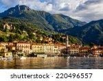 panoramic view of the beautiful ... | Shutterstock . vector #220496557