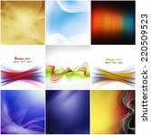 abstract background. a series... | Shutterstock . vector #220509523