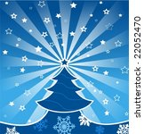 greeting card for christmas... | Shutterstock .eps vector #22052470