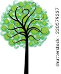 vector tree | Shutterstock .eps vector #220579237