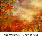 Autumn Background With Fall...
