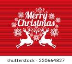 christmas graphic design  ... | Shutterstock .eps vector #220664827