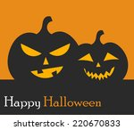jack o' lantern halloween...   Shutterstock .eps vector #220670833