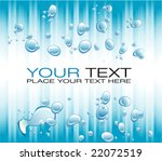 vector blue lines and water... | Shutterstock .eps vector #22072519